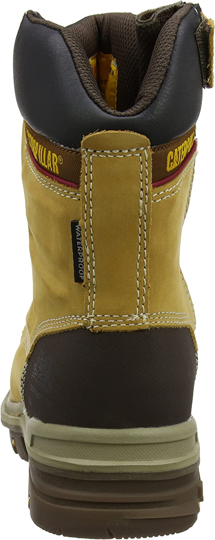 Mn Hnyrst 42 EU Caterpillar Mens Premier 8 Wr Tx Ct S3 HRO SRC Safety Boots Yellow 8 UK