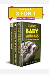 I Love Animals Boxset - Fun Children's Picture Book with Amazing Photos of Animals Kindle Edition