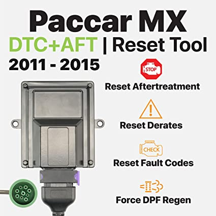 OTR Performance Paccar MX | Heavy Duty Diagnostic | Forced DPF Regen |  Reset Derates | Clear Inactive/Active Faults (2011-2015)