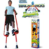 Geospace Original Walkaroo Xtreme Steel Balance Stilts with Height Adjustable Vert Lifters by Air Kicks