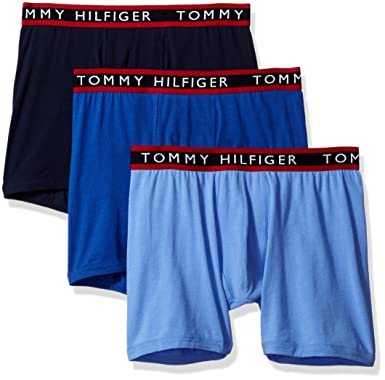 bf50463c8aa2 Tommy Hilfiger Men's Cotton Stretch Boxer Brief at Amazon Men's ...