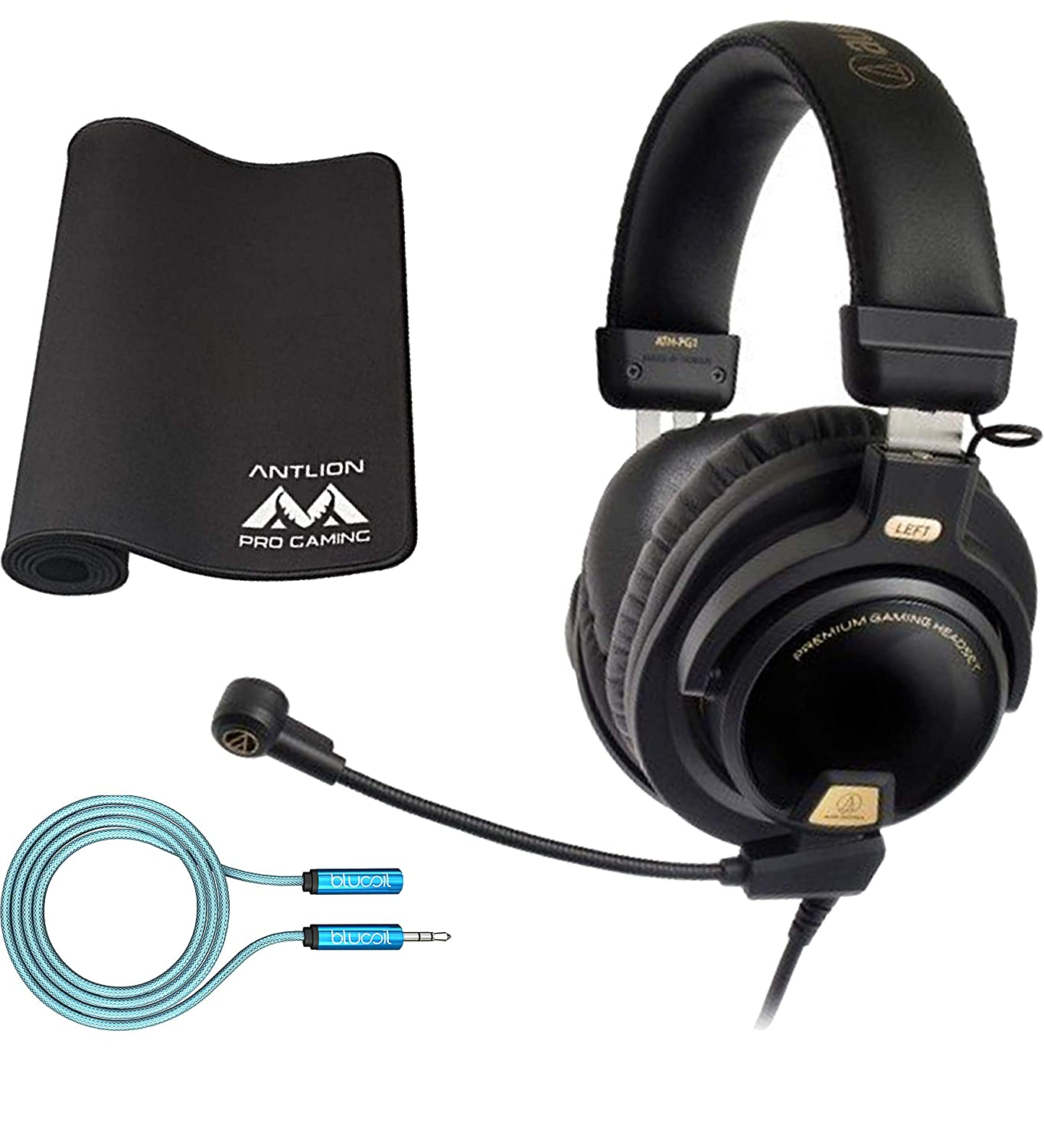 the best attitude af8a0 ed426 Amazon.com: Audio-Technica ATH-PG1 Gaming Headset for PC ...