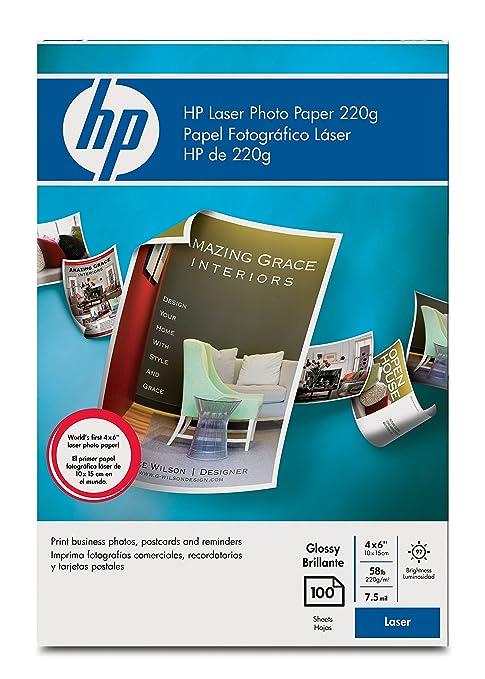 Amazon.com: HP Color Laser papel fotográfico – papel ...