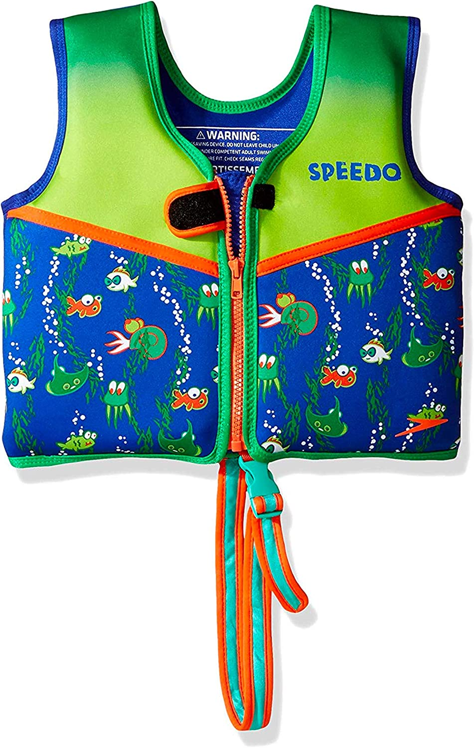 Speedo Swim Flotation Classic Life Vest Begin to Swim UPF 50 Vest