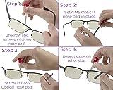 GMS Optical Premium Grade Soft Silicone - D -Shape
