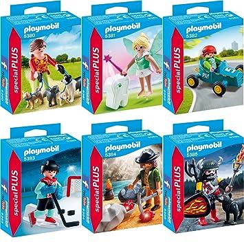 c60034e6f44 Playmobil Special Plus Set 5380 5381 5382 5383 5384 5385: Amazon.co ...