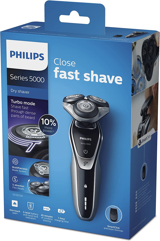 Philips S5320/06 - Afeitadora eléctrica, uso en seco, con ...