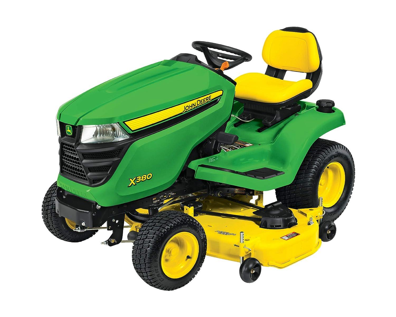Amazon.com: John Deere Select Serie X300 - Tractor de césped ...