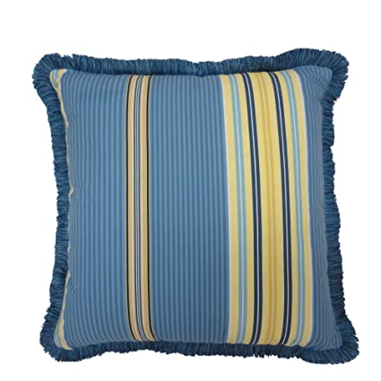 Amazon Waverly Imperial Dress Garden Path Reversible Decorative Beauteous Decorative Pillows With Fringe