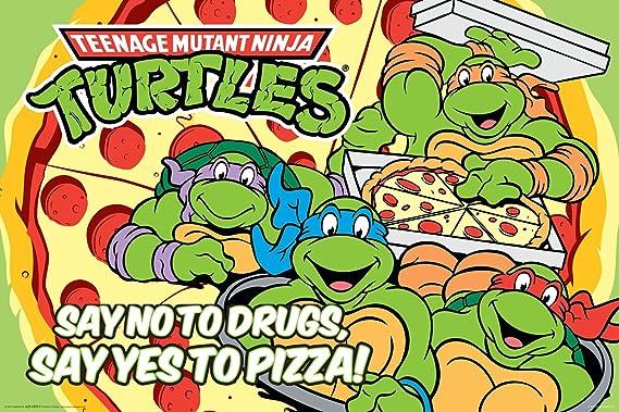 Vintage Ninja Turtles Pizza Tossing Leonardo