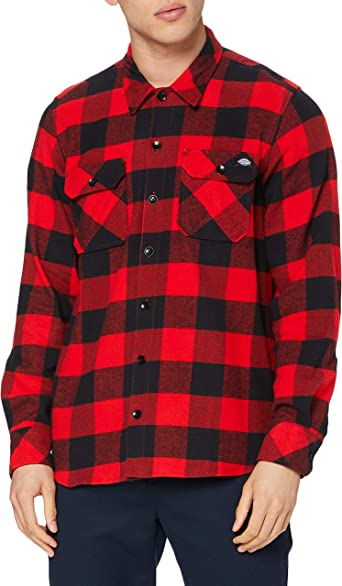 Camisa deportivas para hombre Dickies Streetwear Male Shirt Sacramento Camiseta