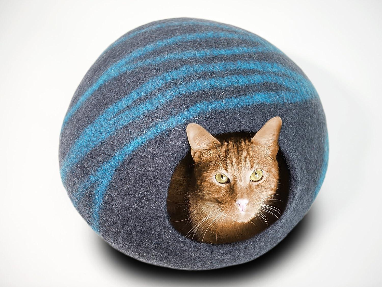 Amazon.com : Meowfia Premium Cat Cave (Large) - Eco Friendly 100 ...