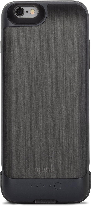 Moshi iGlaze Ion iPhone 6/6s Battery Case - Steel Black
