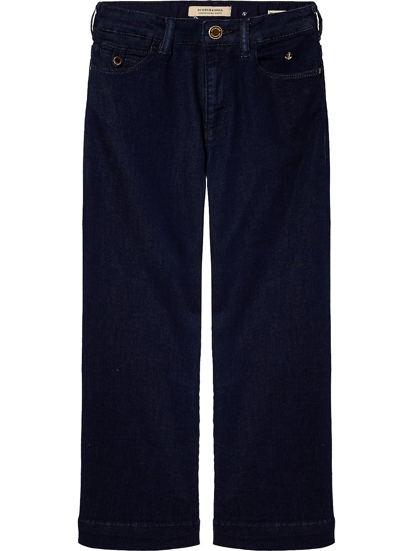 Sailor Blue Jeans Scotch /& Soda Girls Seasonal High Waist Flare