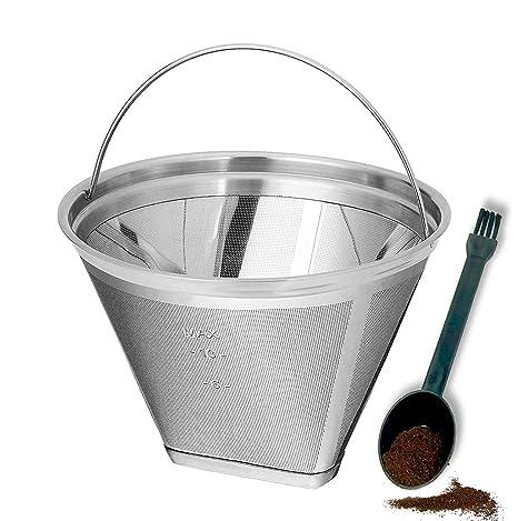Amazon.com: Filtro de café reutilizable de 8 a 12 tazas ...