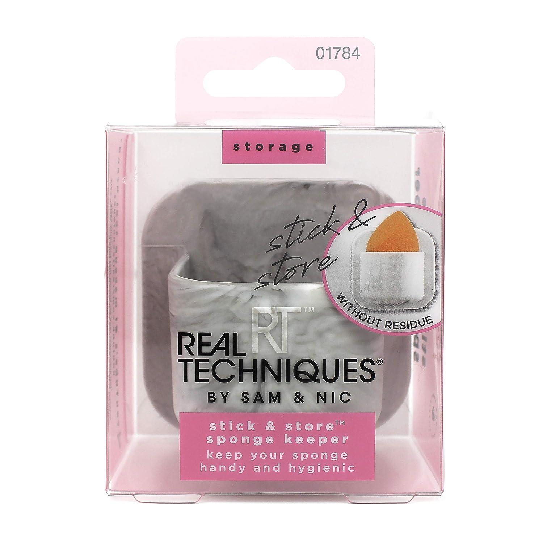Real Techniques Stick and Store Make-up Sponge Holder Storage Pot Paris Presents Inc 1784M