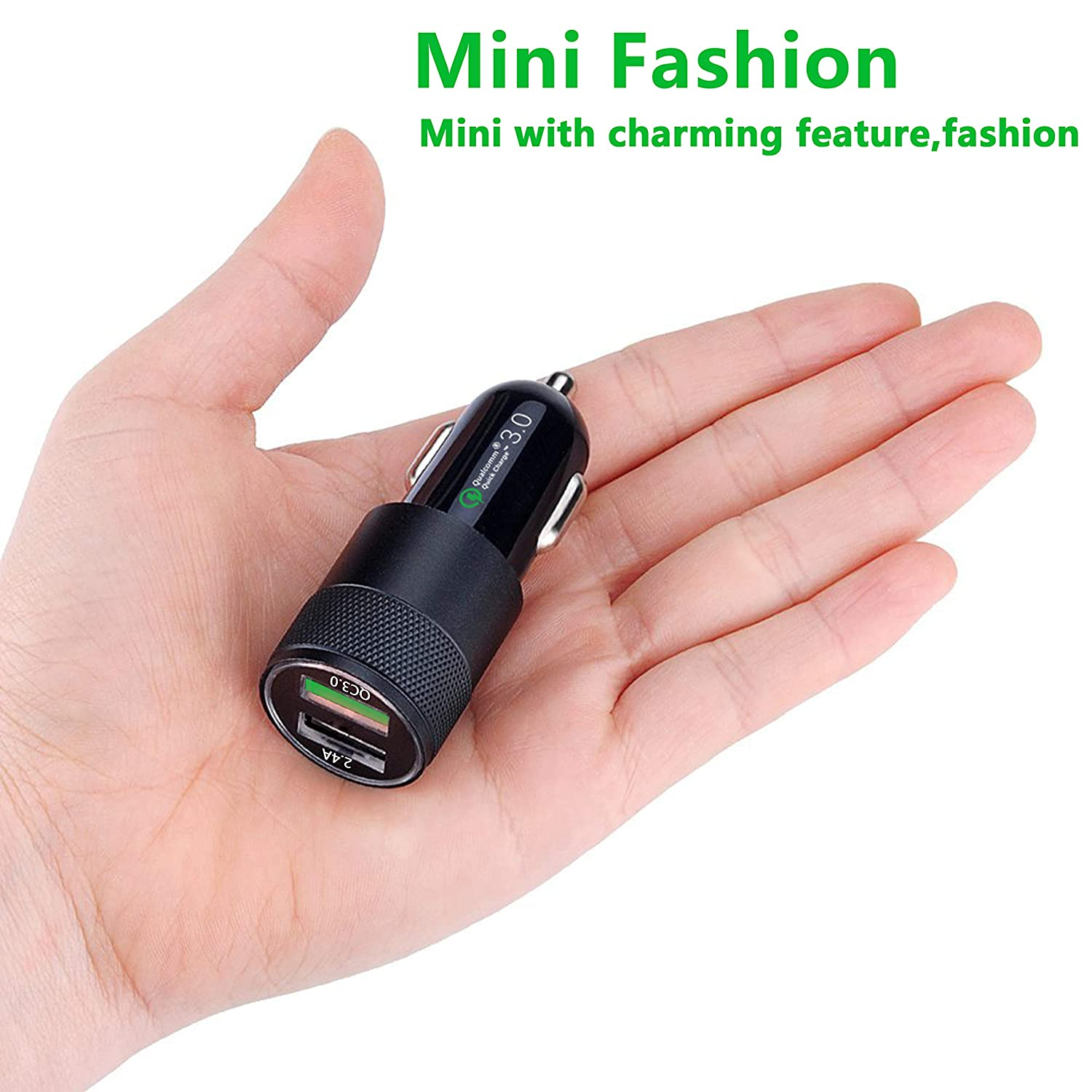 Car Charger Aonear Quick Charge 3.0 USB Adapter Extra 3ft USB Type C Fast Charging Cable Cord Compatible Samsung Galaxy S9//S9+//S8//S8 Plus//Note 8,Google Pixel//Pixel XL//2//2 XL//3//3 XL 4351501919