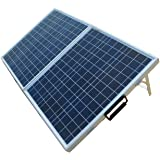 ECO-WORTHY 12 Volts 80 Watts Portable Folding Polycrystalline Photovoltaic Solar Panel Module RV Boat Battery Charger Kit with 15A Charge Controller