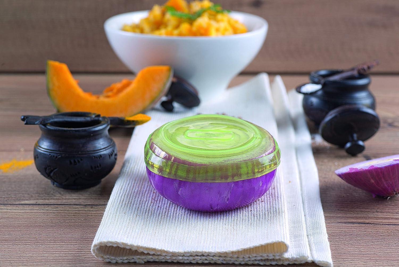 color verde Silikomart 198949 Capflex XXL Tapa de silicona para conservar alimentos