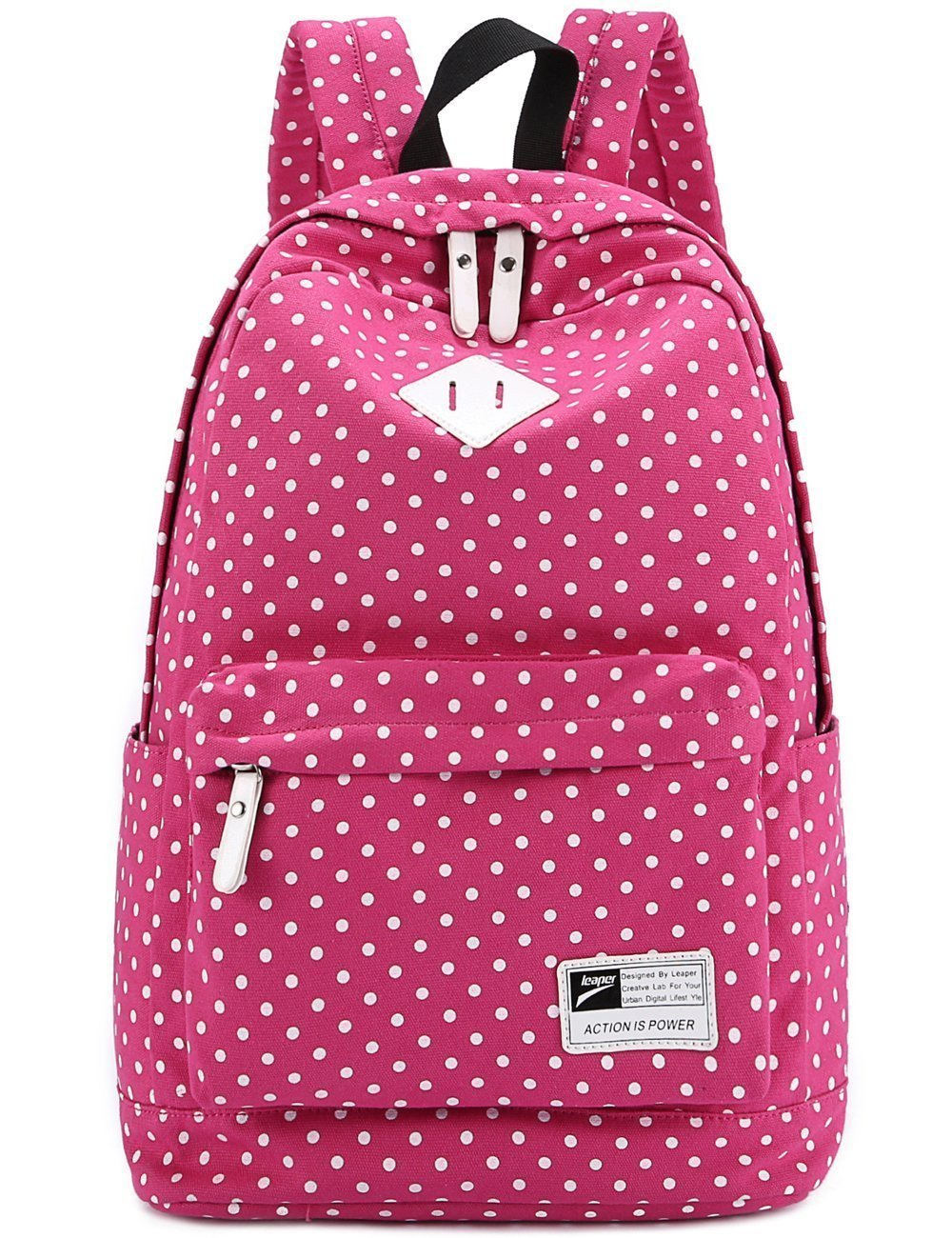 Amazon.com : Yanzi6 Lightweight Casual Daypack Backpack for College Bookbag for Women Girls School Bags (Pink) : Sports & Outdoors