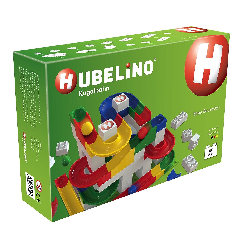 Hubelino - Labirinto Per Biglie, Livello Principiante, 106 Pezzi, Età +3