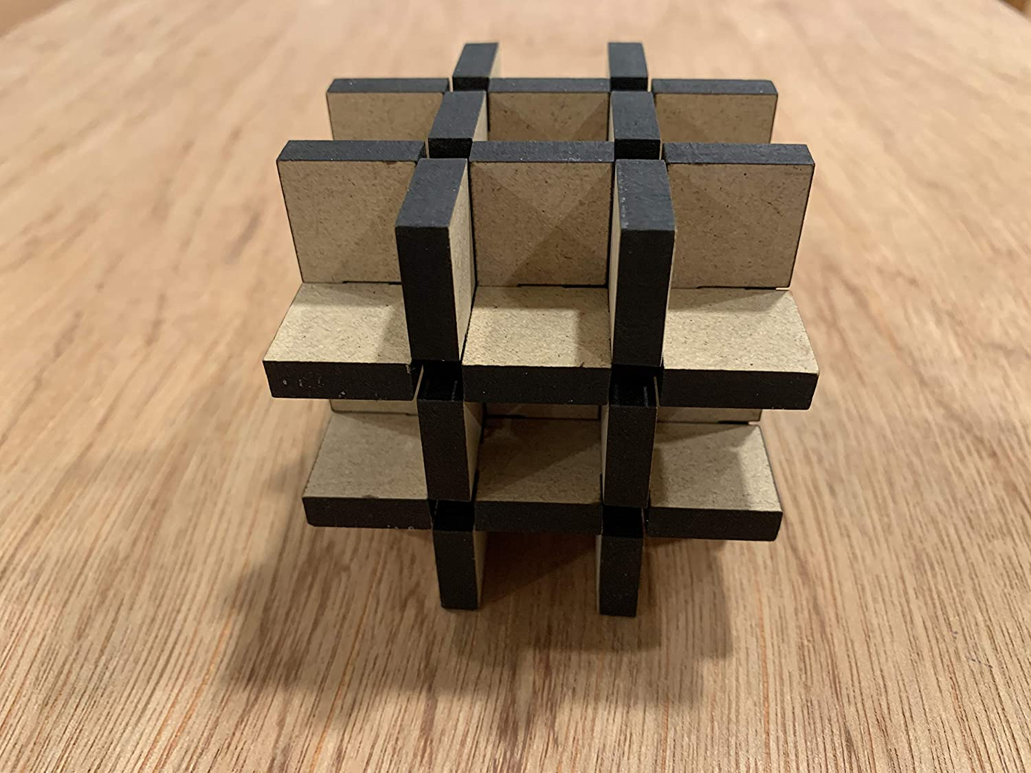 Inversion Cube Puzzle Very Difficult
