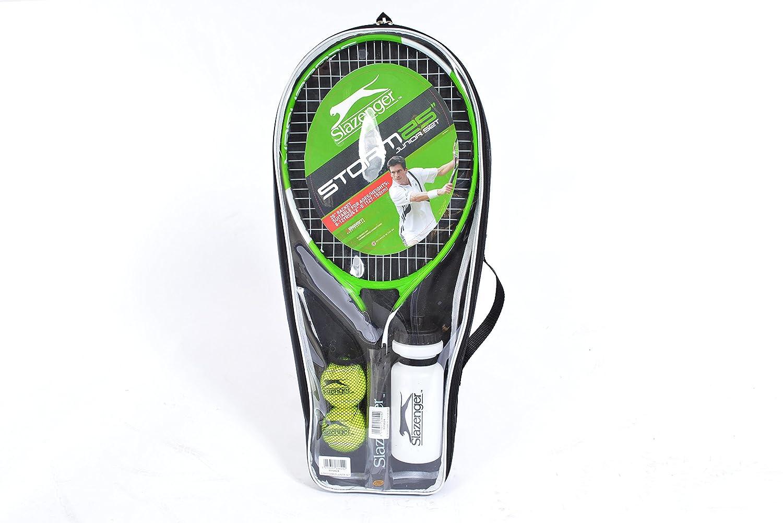 Slazenger Storm 25 Inch Junior Tenis Starter Set con Bolsa, Bolas y Botella de Agua: Amazon.es: Deportes y aire libre