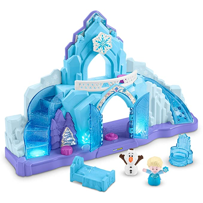 Little People Frozen Eispalast  - Fisher-Price Frozen Eispalast
