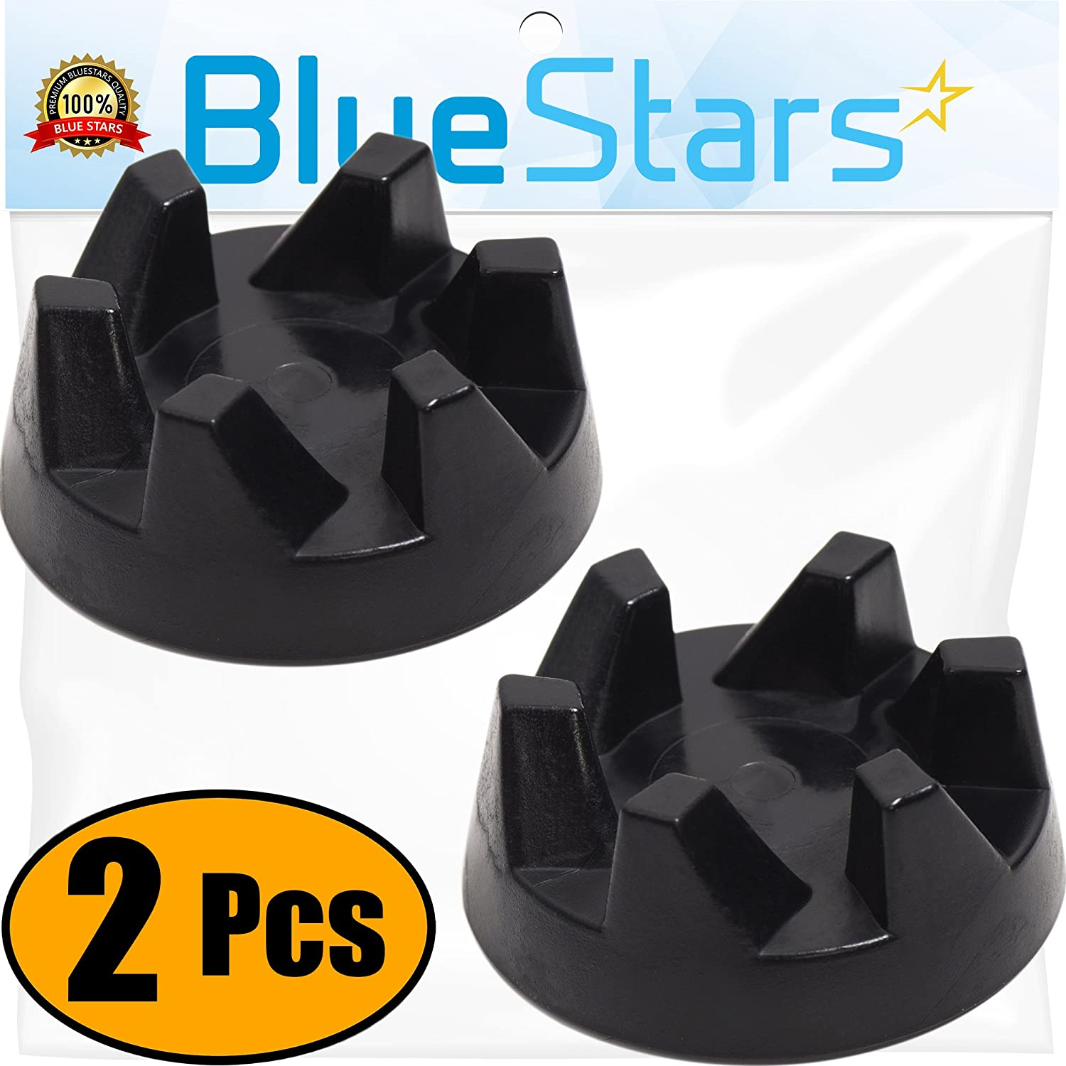 Ultra Durable 9704230 Blender Drive Coupling Replacement part by Blue Stars – Exact Fit For KitchenAid Blenders – Replaces WP9704230VP WP9704230 - PACK OF 2
