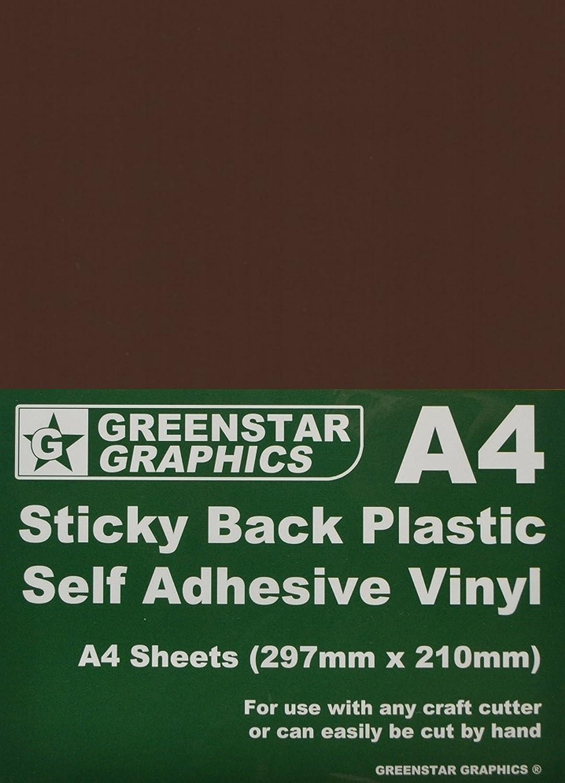 20xA4 Gloss Vinyl Self Adhesive Craft Sheet For Silhouette Portrait Cameo Cricut