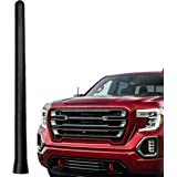AntennaMastsRus - The Original 6 3/4 Inch is Compatible with GMC Sierra 1500 (2006-2020) - Car Wash Proof Short Rubber Antenn