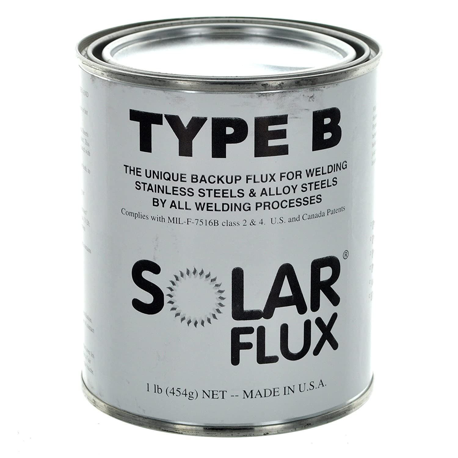 Weldcote Metals Solar Flux Type B 1Pound Can - - Amazon.com