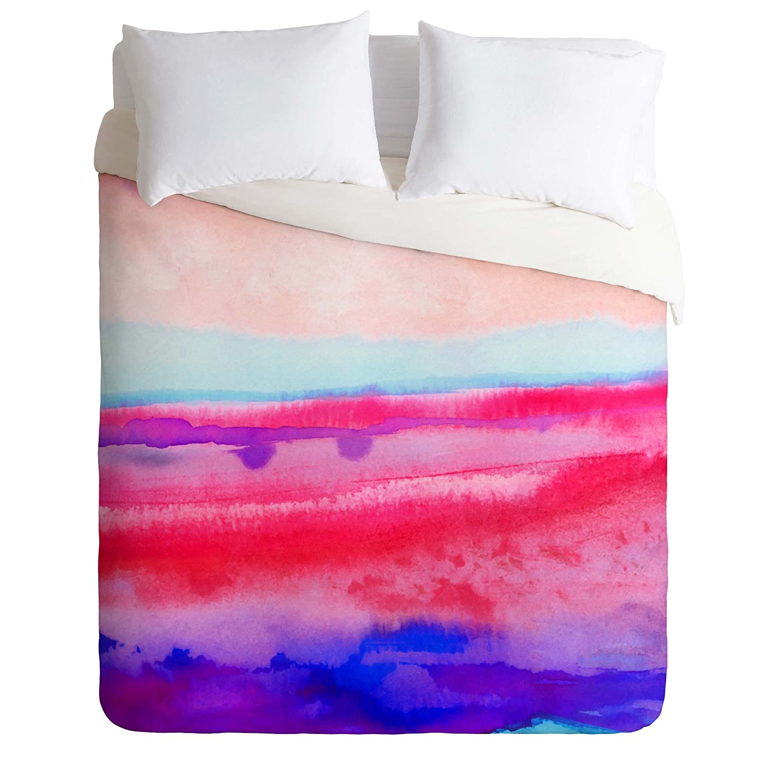 Destiny 2 Queen Deny Designs Jacqueline Maldonado Brushfire Duvet Cover, Queen