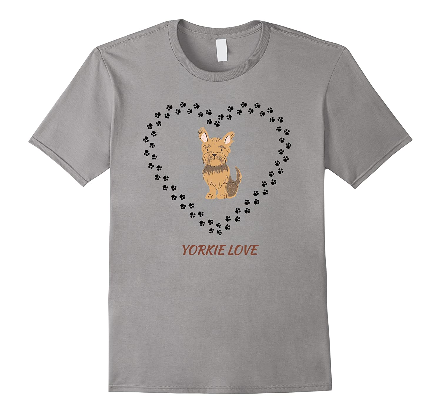 Yorkshire Terrier Yorkie Love Dog T-Shirt-TH