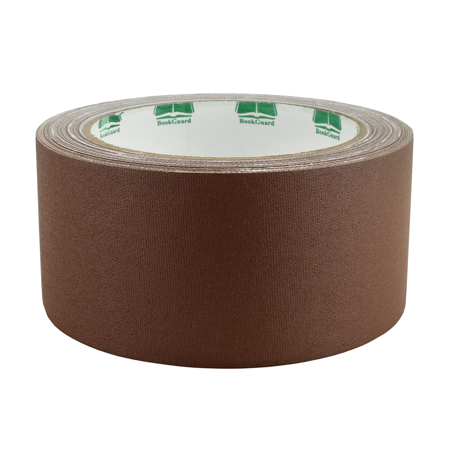 "2"" Brown Colored Premium-Cloth Book Binding Repair Tape 