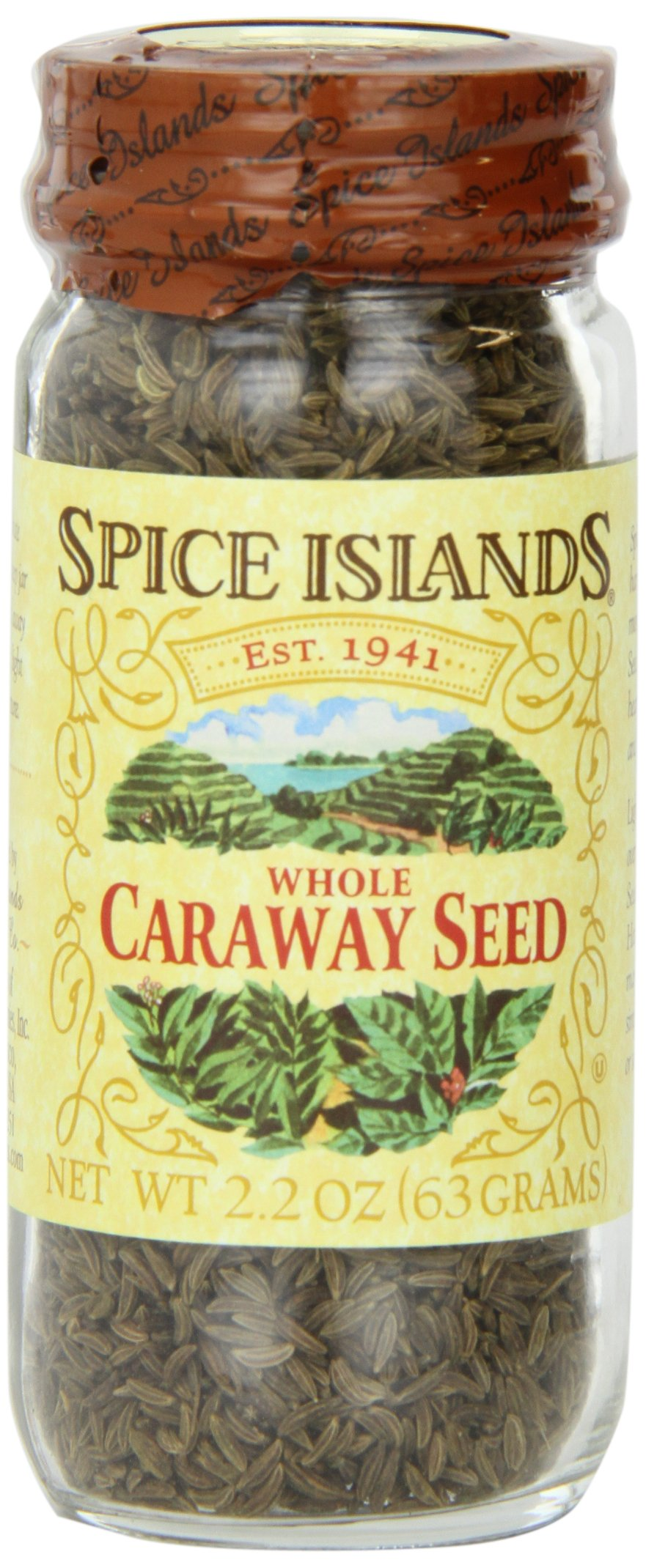 Spice Islands Caraway Seed, Whole, 2.2-Ounce (Pack of 3) by Spice Islands (Image #1)