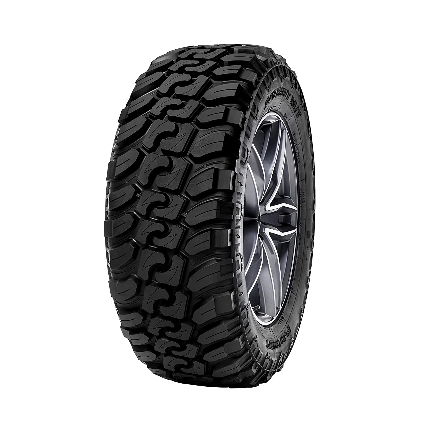 Patriot Tires MT All-Terrain Radial Tire - 35x12.50R18LT 123Q Omni United RFD0010
