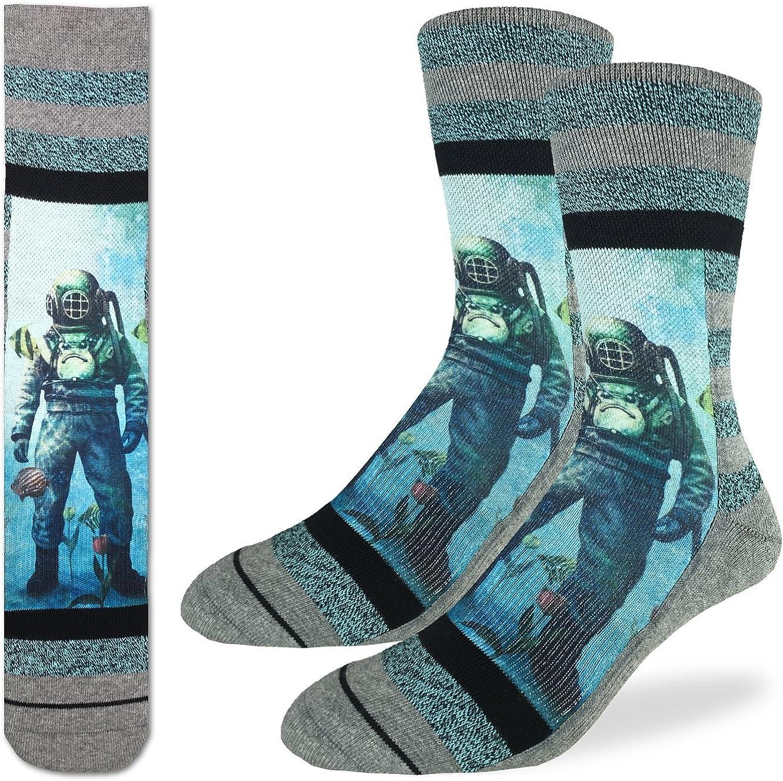 I Love Diving Socks Black Cotton Socks.