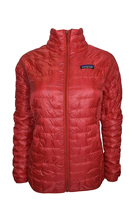 7f9db88e543 Image Unavailable. Image not available for. Color: Patagonia Women's Red Micro  Puff Jacket XS
