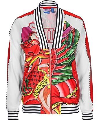 e0a4ee1c7 Adidas Originals X Rita Ora Dragon Print Track Jacket