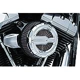 Kuryakyn 9238 Motorcycle Air Cleaner/Filter Component: Crusher Maverick Air Cleaner Trim for 1999-2017 Harley-Davidson Motorc