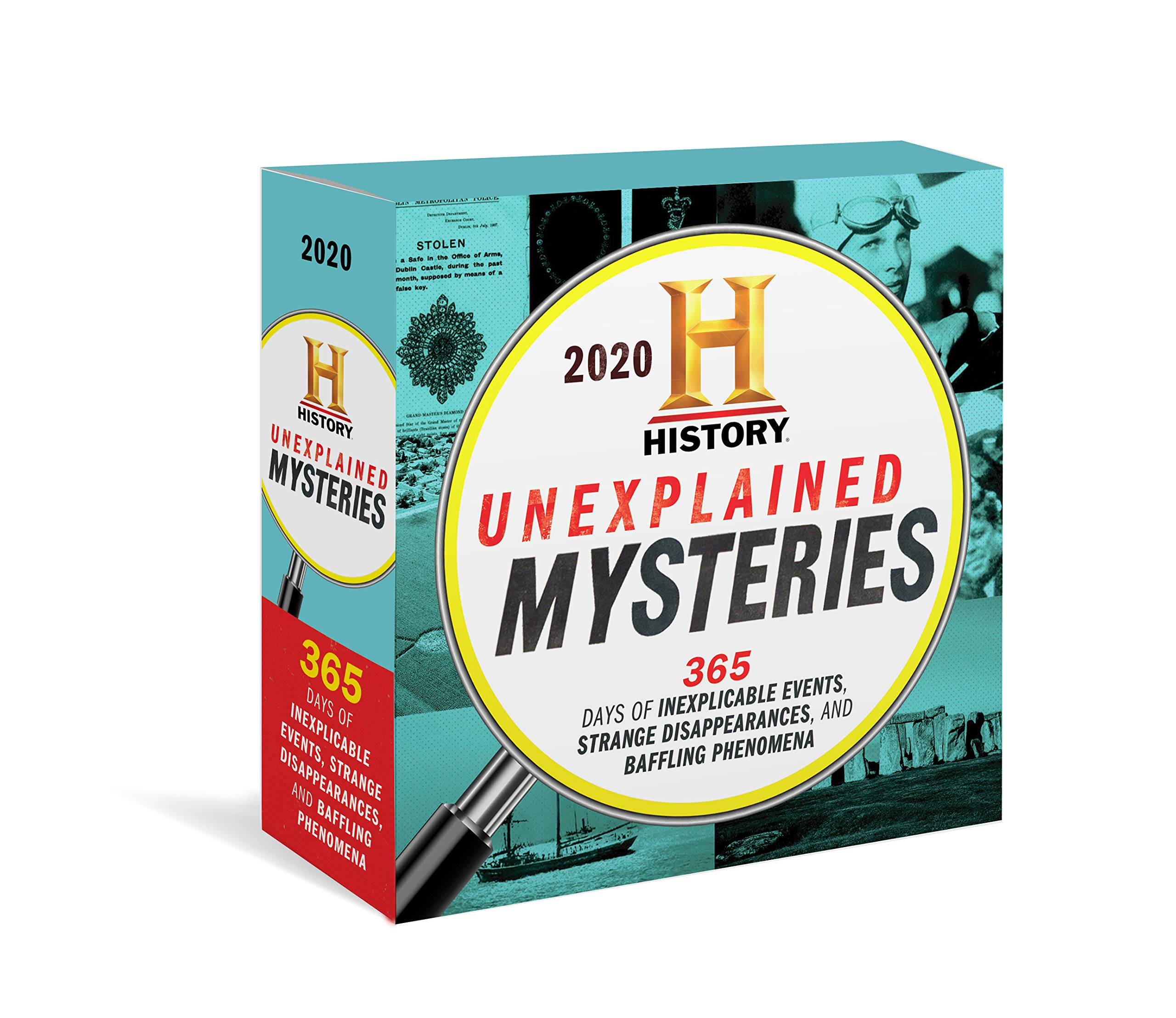 2020 History Channel Unexplained Mysteries Boxed Calendar: 365 Days of Inexplicable Events, Strange Disappearances, and Baffling Phenomena by Sourcebooks Gift Sales