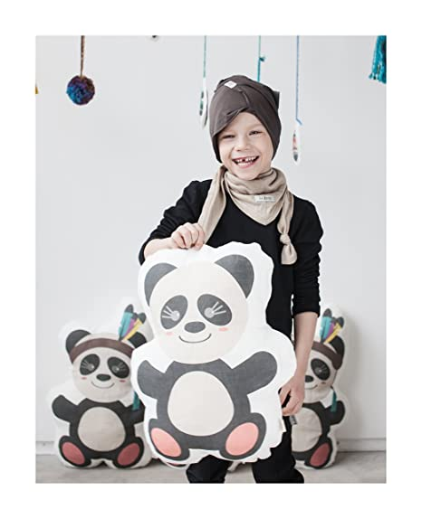 Grandes con Forma de oso panda guardería cojín, cojín de ...