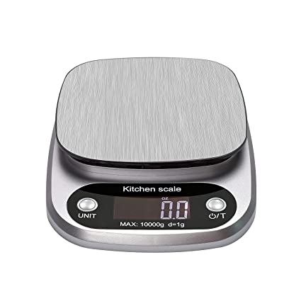 Escalas de cocina Vovoly Digital (10 kg / 1g), básculas de cocina electrónicas