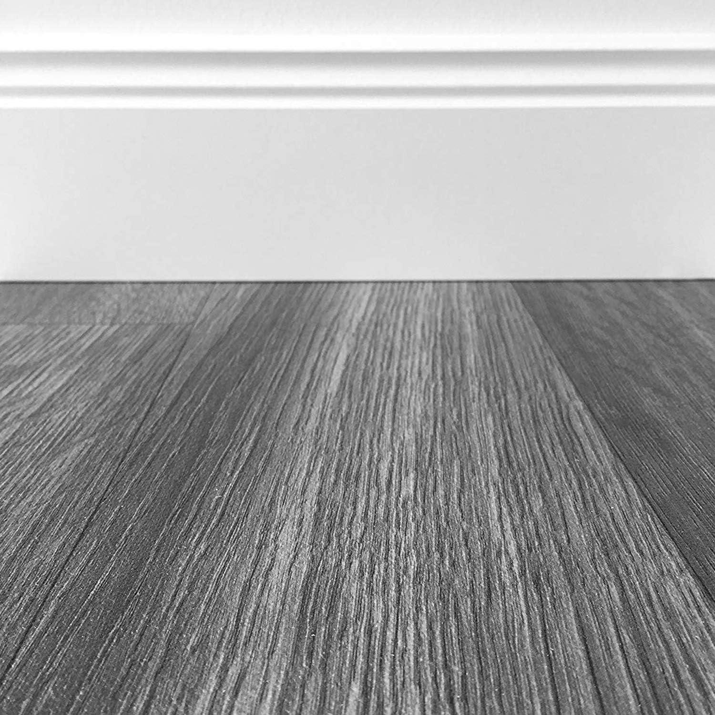 CV-Boden wird in ben/ötigter Gr/ö/ße als Meterware geliefert rutschhemmend PVC-Belag verf/ügbar in der Breite 3 m /& in der L/änge 5,0 m PVC Vinyl-Bodenbelag im modernen Landhausstil