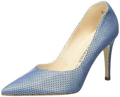 Peter Kaiser Dione, Escarpins Bout fermé Femme, Bleu (Azur Summermoon 643), 170c177b9110