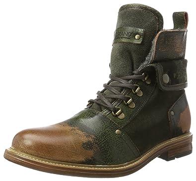 nobrandHammer - Botines Hombre, Color Verde, Talla 46: Amazon.es: Zapatos y complementos