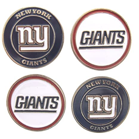 dda9429783e Image Unavailable. Image not available for. Color  New York Giants Golf  Ball Markers ...
