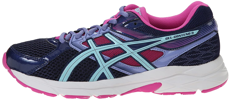 0f7beb5a73 Amazon.com | ASICS Women's Gel-contend 3 Running Shoe, Indigo Blue ...