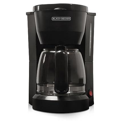 Black & Decker DCM600B 5-Cup Coffeemaker, Black